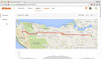 Strava art by Stephen Lund Victoria BC garmin gps strava art cycling cyclist bicycle giraffe animals