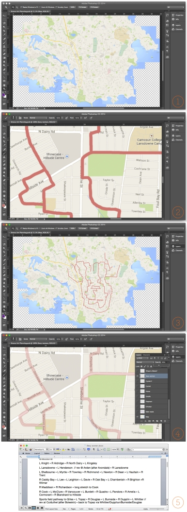 Strava art planning process garmin gps creativity how-to cycling bicycle