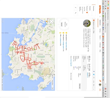 A big shout-out, Strava style, to Tripleshot Cycling Club – BC's Cycling Club of the Year 2014 by Stephen Lund garmin gps strava art bike-writing cycling cyclist bicycle
