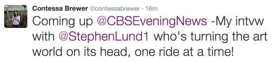 Contessa Brewer tweet