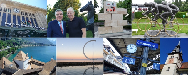 Lausanne, Switzerland – the Olympic Capital and home of the International Olympic Committee